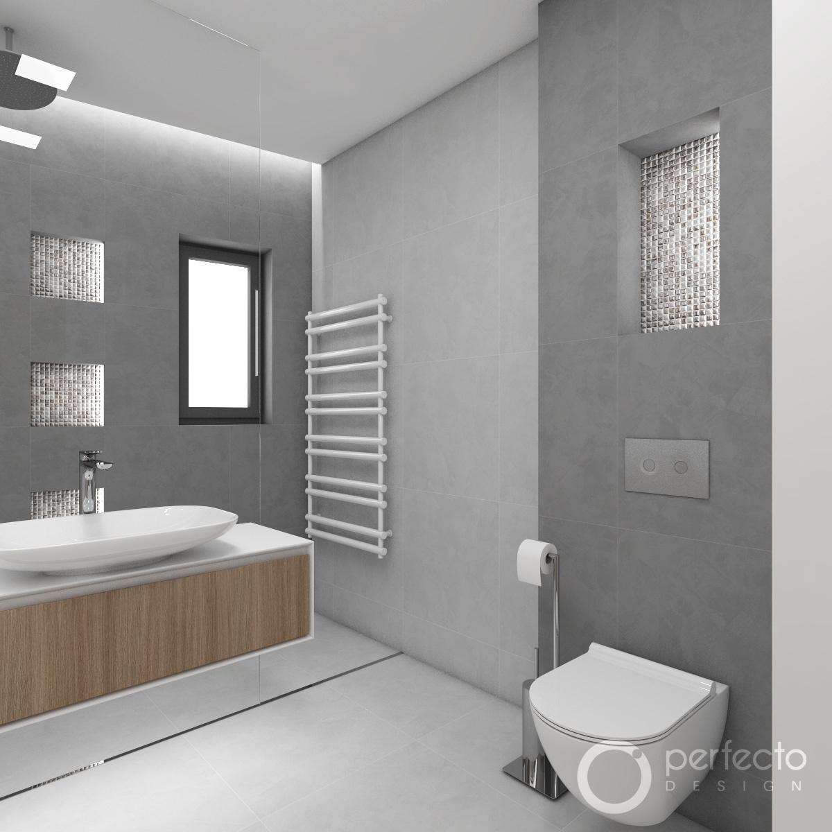 Modernes Badezimmer CHICAGO  Perfecto design