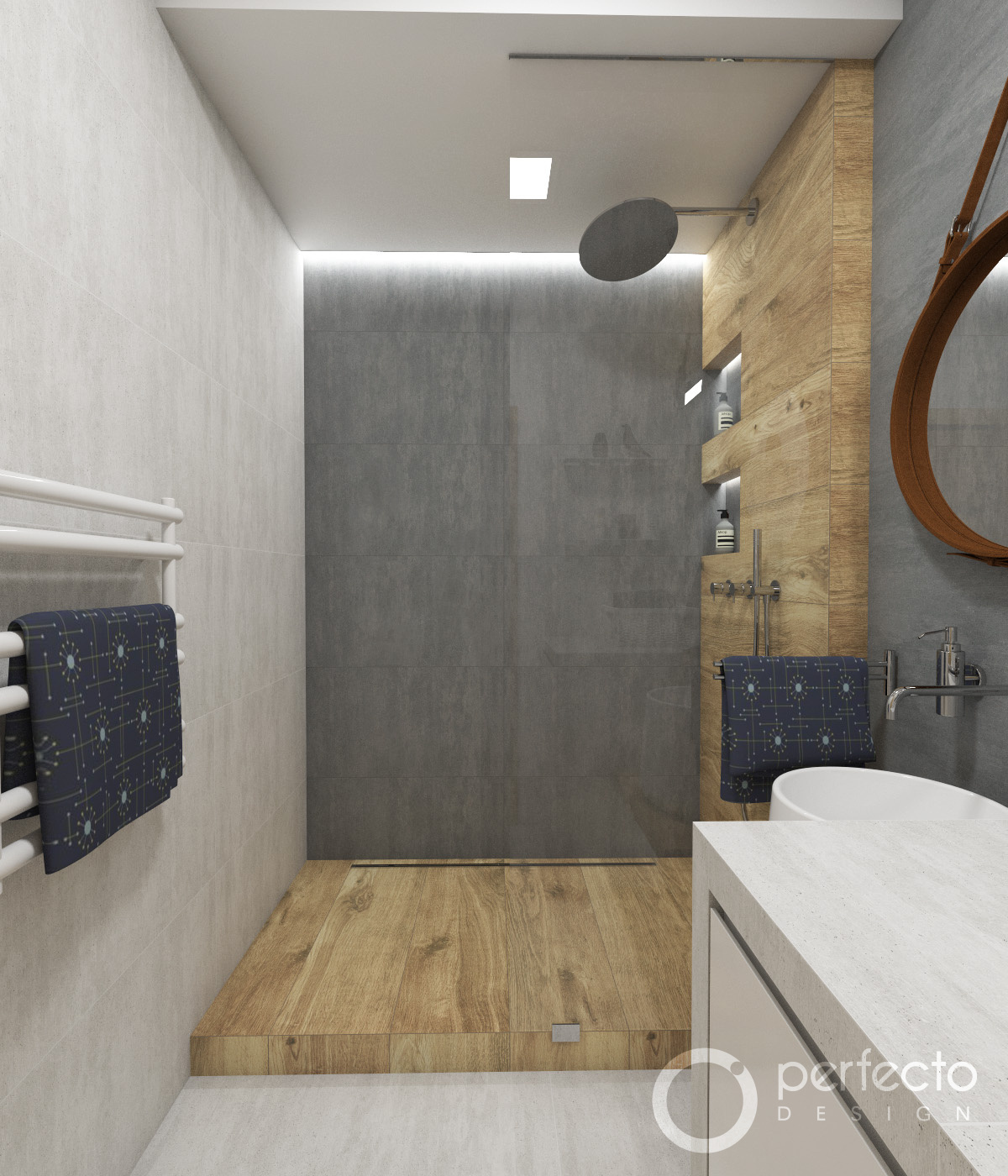 natur-badezimmer scandinavia | perfecto design, Badezimmer